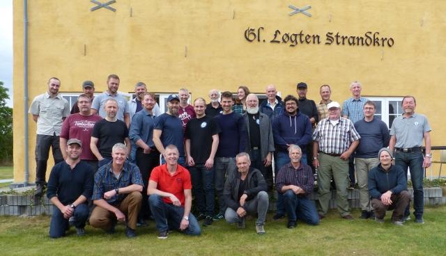 Nanok expedition meeting. Løgten Strand, 1. October 2016